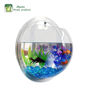 China Hot Sale Kustom Custom Ukuran Acrylic Bening Tangki Ikan Akuarium