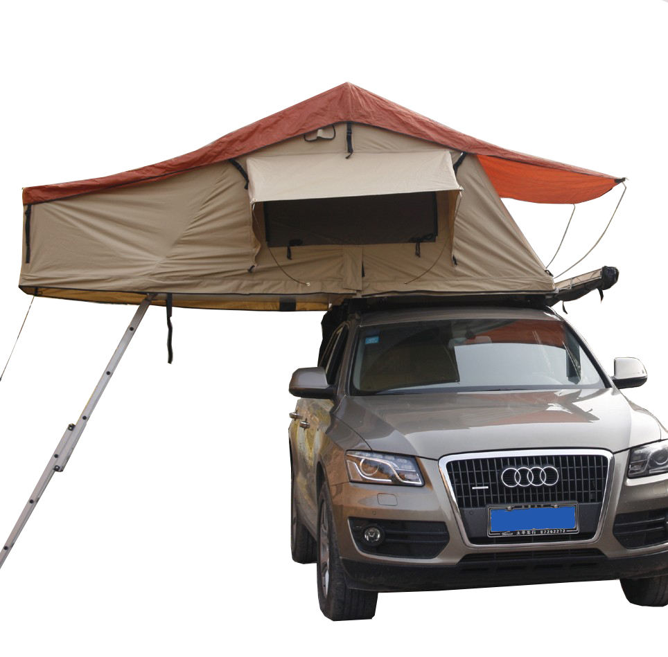 4 person car roof top camping tent for offrod camping