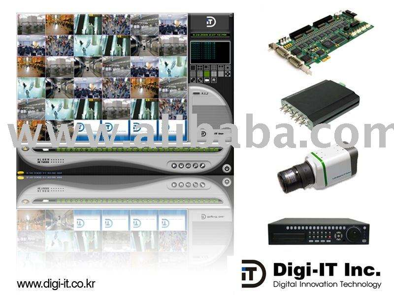 DVR basado en PC/servidor de vídeo/cámara IP
