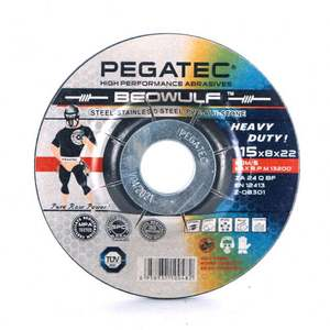 BEOWULF 4.5inch 115X8X22.2mm All in one abrasive tools grinding disc wheel en12413