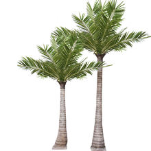 Chinese factory offer coconut palm tree outdoor Artificial 4 meter coconut palm natural looking coconut tree for decoration