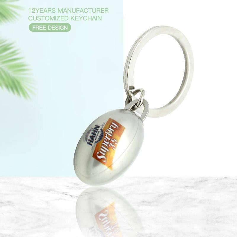 YI MEI DA Metal Car Keychain Key Ring Key Chain Fashion Leather Black Keyring for Volkswagen Emblem Decoration