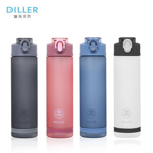 Wholesale promotional eco-friendly custom printed tritan plastic sport water bottle for sport