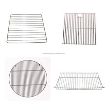 Manufacturer custom metal stainless steel wire grid shelf