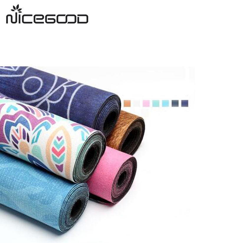 Home decoration Heat Transfer Printing non slip Yoga Mat Cover