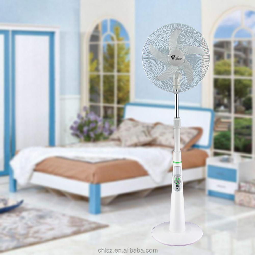 New arrival electronic charger stand fan price 16 Inch Round Base