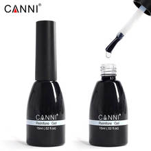 62507d CANNI Free Samples 15ml No Wipe Top Coat Nail Gel Polish No Sticky Layer No Wipe Top Coat Reinforce Gel