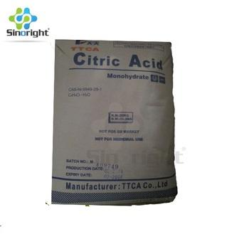 Bulk Anhydrous Grade Price Citric Acid in FOOD Grade