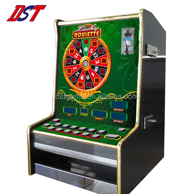 Made in Taiwan muntautomaat tafel roulette lucky roulette game machine