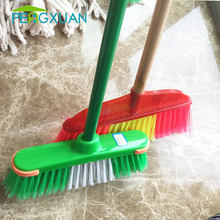 Factory direct wholesale Good Quality cheap industrial brooms with handle