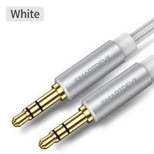 SmartDevil 3.5 Audio Cable Speaker Line Aux Cable for IPhone 5 Samsung A50 S10 S8 Car Headphone for Xiaomi Note Mi 9 Se Note 7