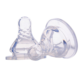 Baby Newborns Soft Safety Liquid Silicone Pacifier Nipple Natural Flexible Replacement Accessories For Wide Mouth Milk Bottle