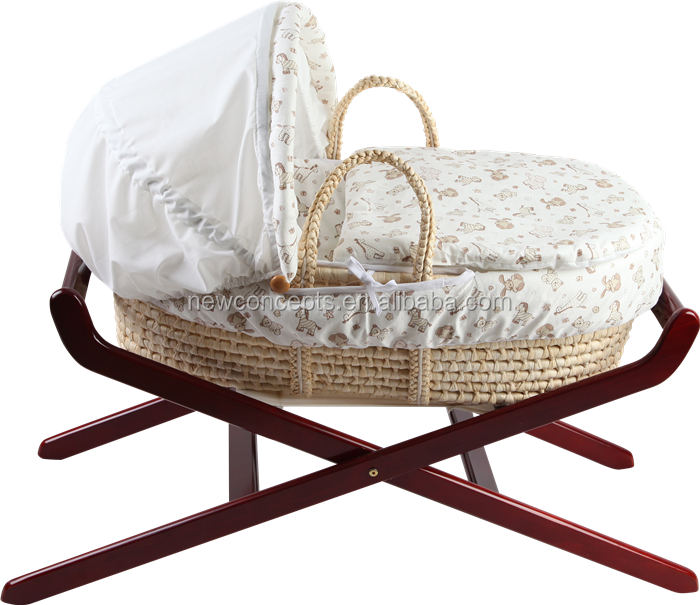 Qingdao High Praised Baby Moses Basket /baby bassinet
