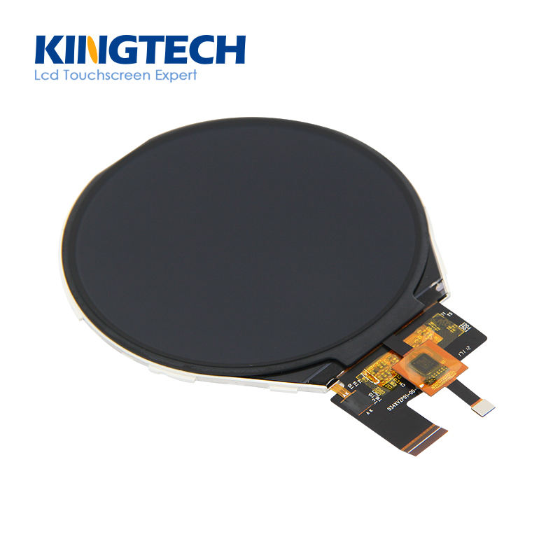 Kingtech 3,4 ''runde ips tft lcd 39 pin kapazitiven touchscreen