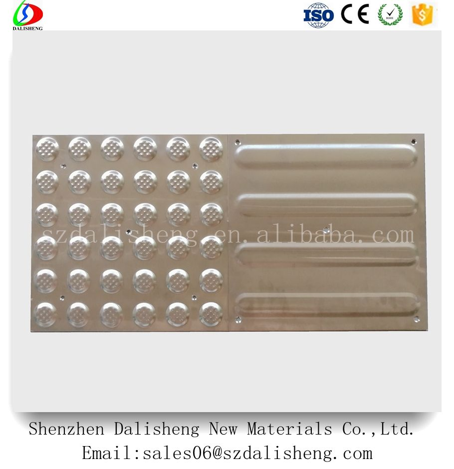 High Quality 316 Stainless Steel Tactile Plate Tile Strip