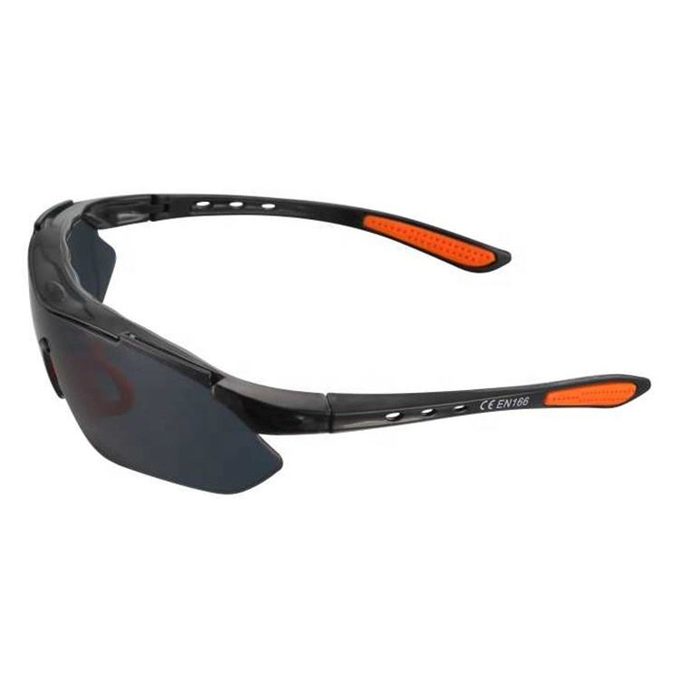 High quality anti-impact & anti-fog lens round safety glasses