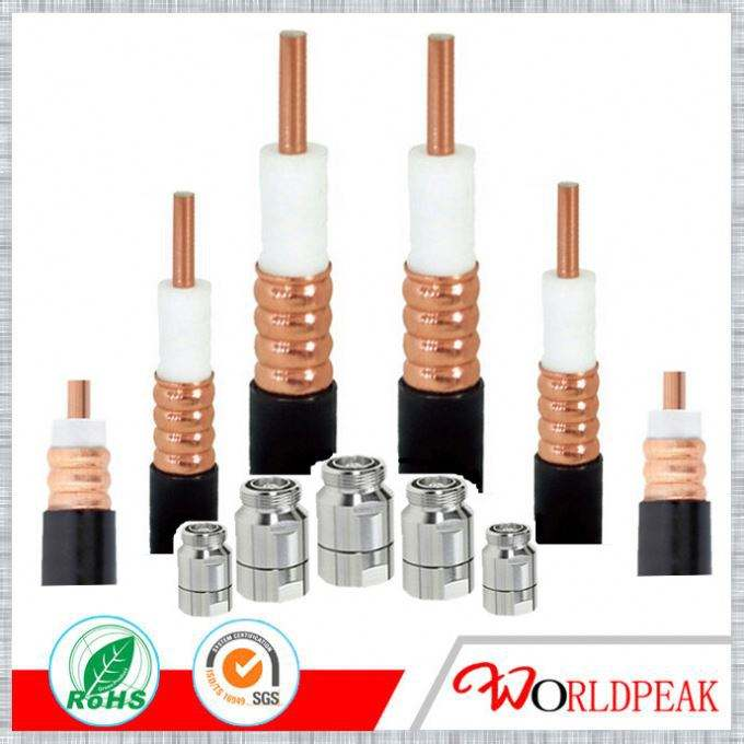 "Copper conductor rf coaxial 1/2"" rf feeder cable"