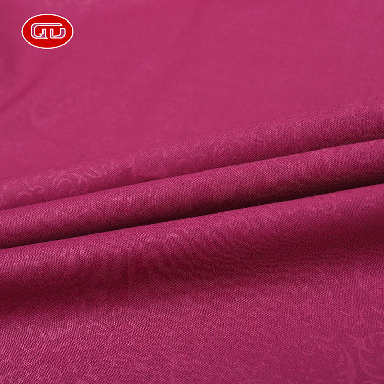 Ready goods  polyester viscose  PD toyobo emboss fabric for Indonesia market