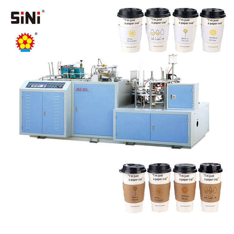 High quality disposable paper coffee carton cup making machine automatic paper cup machine