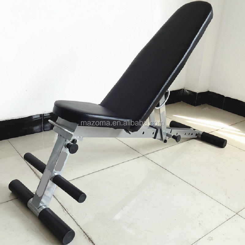 Deluxe custom fitness ab weight bench