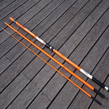 4.2m 3 Section carbon surf casting rods carbon fiber fishing rods
