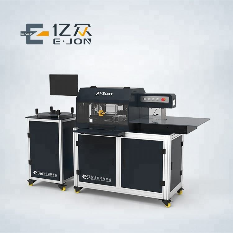 automatic Ejon S13 Mechanical Hand Feeding Multifunctional Auto CNC Channel Letter Bending Machine
