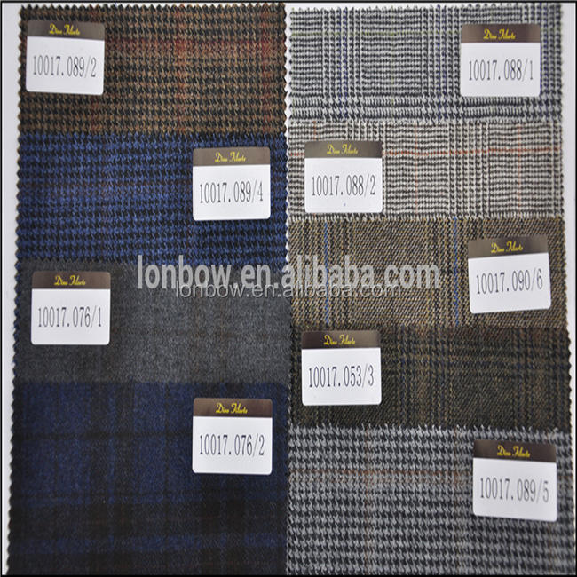 Merino wool interlock wholesale fabric for men's suits velvet fabric