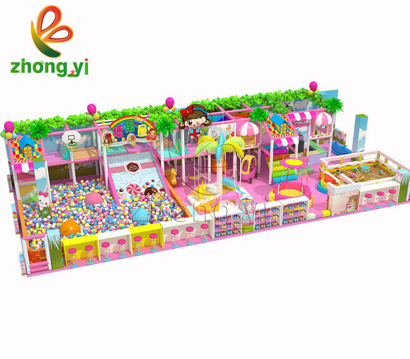 Candy Serie Soft Play Kids Playland Indoor Speeltuin Park