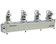Four head Single side Upvc Window Door Seamless Welding Machine