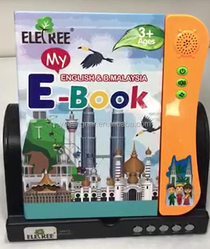 Eletree Eletronic 3 AÑOS NIÑOS inglés Habla árabe libro # EL-B01