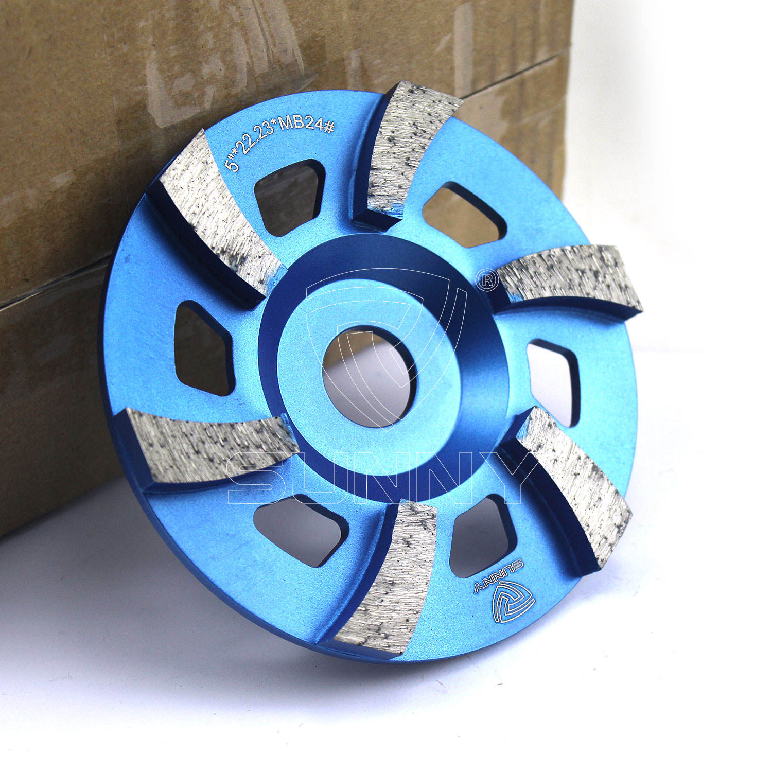 5 inch M14 Turbo Diamond grinding wheels for concrete and stone