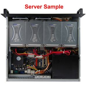 PC Computer Industrial Rack Mount Server Chassis Case 2U