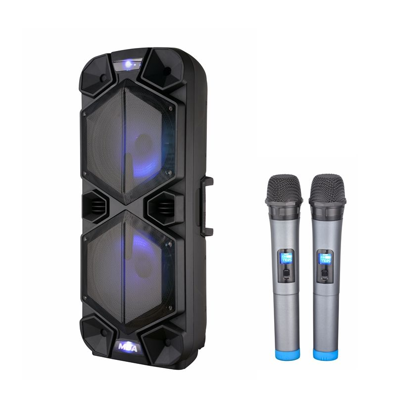 MBA dual 15 Inch Big power Professional Active Powered Active Speaker