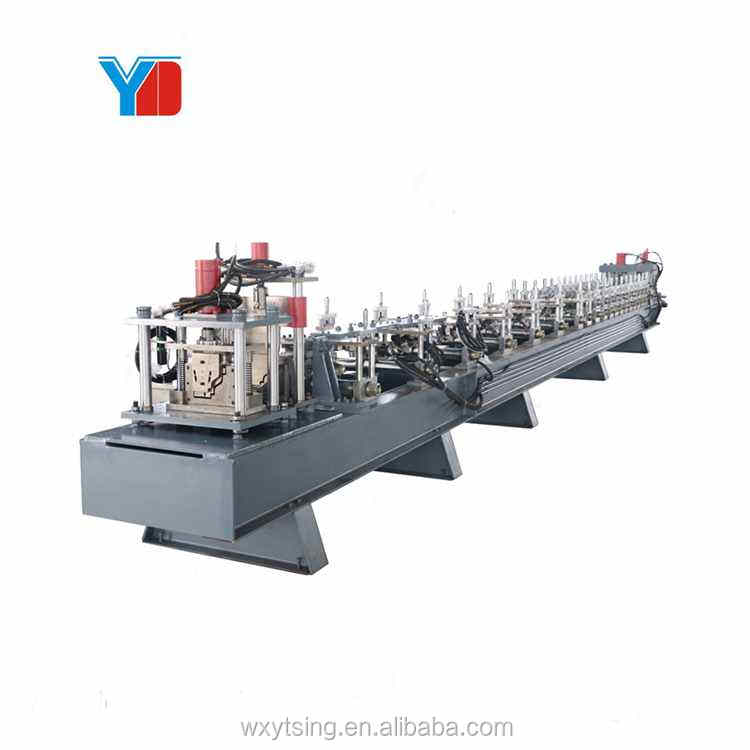 Latest Galvanized Gutter Cold Roll Forming Making Machine Super Quality