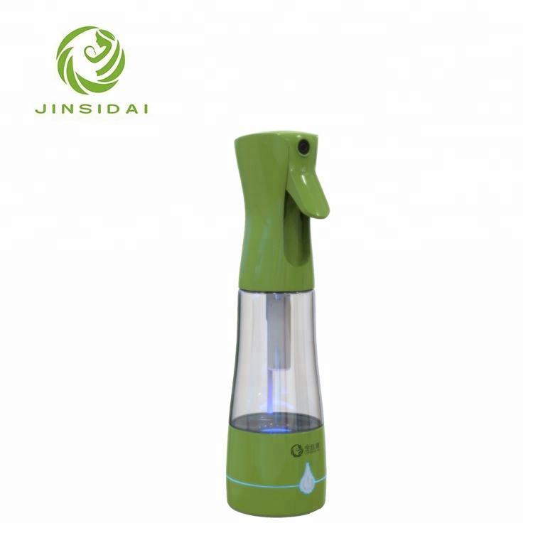 2018 عالية الجودة غرامة ضباب الأوزون البلاستيك مطهر زجاجة لرش المياه
