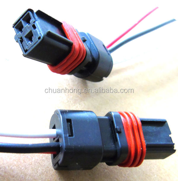 Connector 3-way Coolant Temperature Sensor For Fiat Renault 3pin with wires