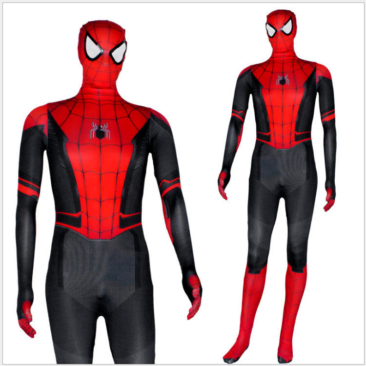Miles Morales Costume Miglia Versione Animata Cosplay Spiderman Costume di Halloween Spider-man Superhero Zentai Suit Per Adulti/Bambini