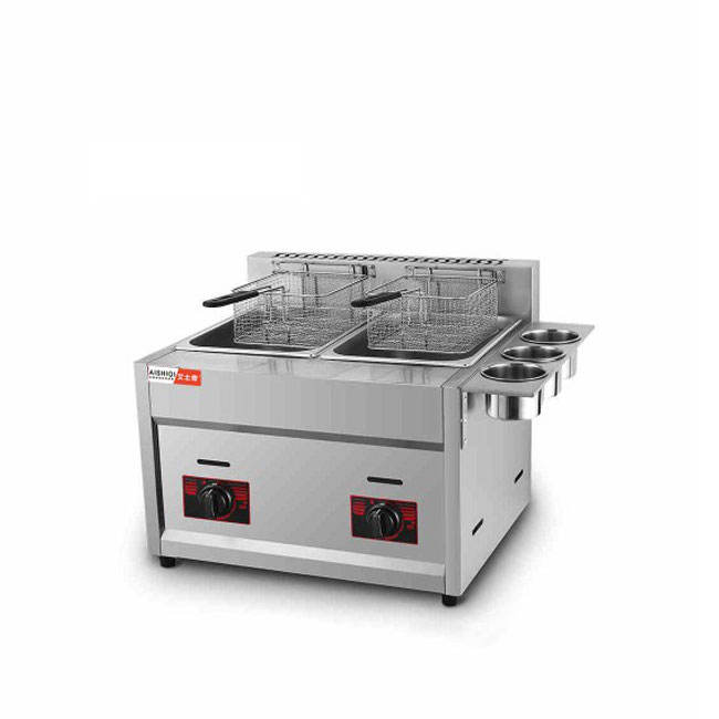 Commercial GAS/LPG Chicken Deep Fryer LPG/GAS Deep Frying Machine Commercial Potato Chips Deep Fryer For Sale
