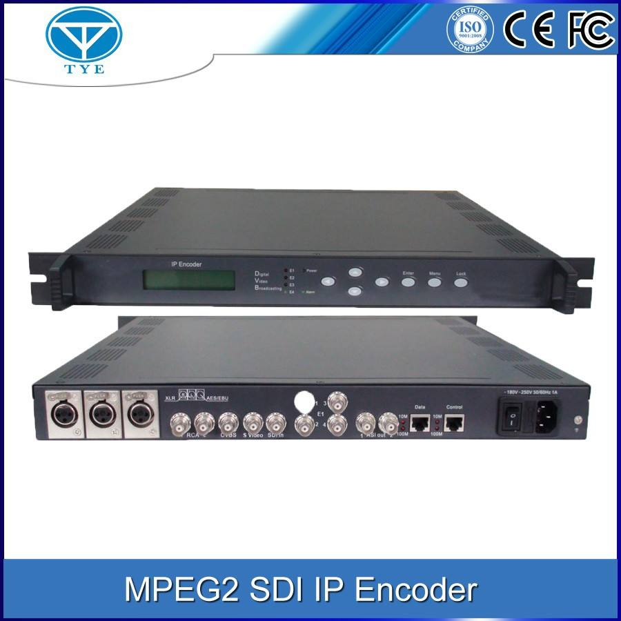 TY-4101 singolo canale AES/EBU SD IP digital audio video encoder