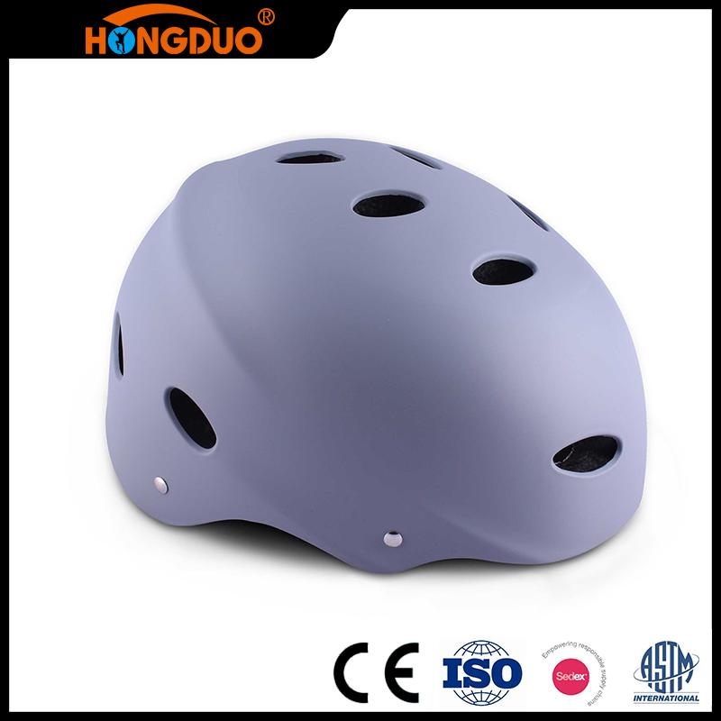 Высокое качество серый защитный спортивный шлем для детей