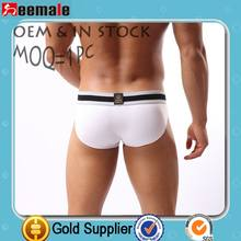 Moq=1 Seemale Underwear Punto Blanco Underwear White Slip Wholesale Oem