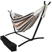 Double Cotton Combo Hammock with Stand Paradise
