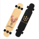 Wholesale Wooden Fish Cutting Board Cruiser Skateboard Longboard