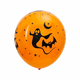 custom personalized halloween print ballons
