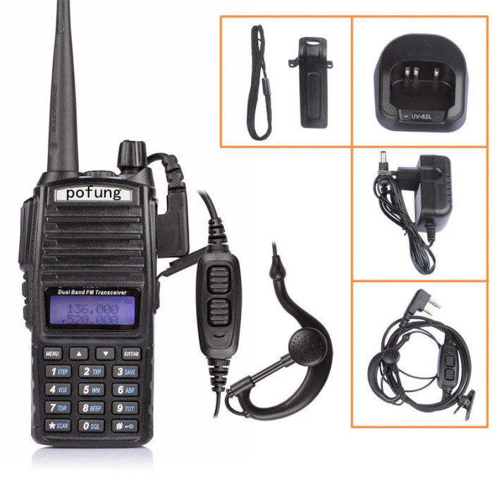 뉴 햄 Radio 무 토키 보풍 UV-82 CB Ham Radio Vhf Uhf Dual Band 보풍 UV 82 <span class=keywords><strong>휴대용</strong></span> radio