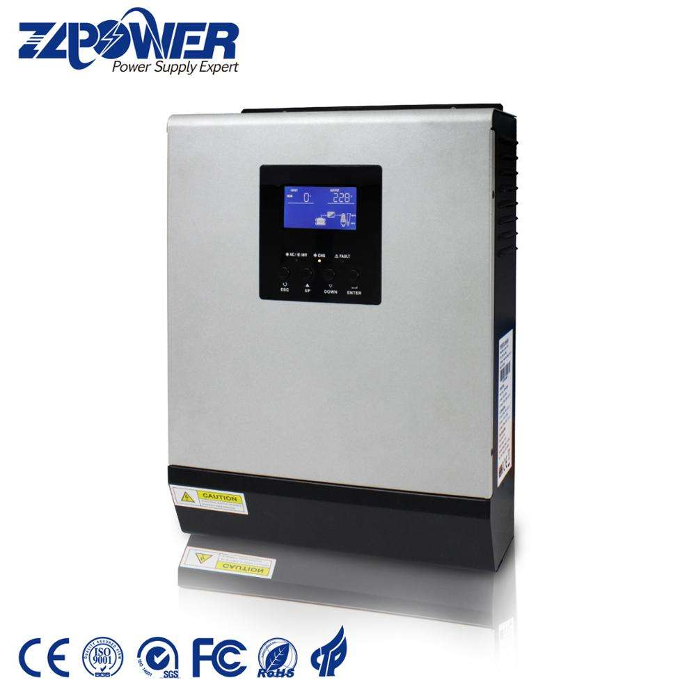 Power System Inverter 48V 220V 4Kva 5Kva Pure Sine Wave Invertor for Home MPPT Solar Charge Controller