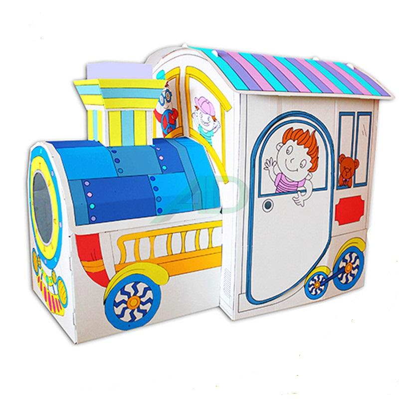 Safety Playful Cardboard indoor playhouses for kids