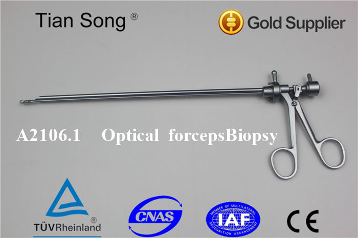 Urology optical biopsy forceps optical forceps punch biopsy forceps