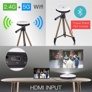 Hotsale D08 HD 4K Projector Android LED Business Outdoor Home Theatre DLP 3D Projector