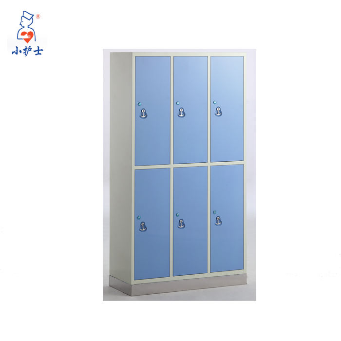 Hospital Cupboard 21-doors Stainless Steel Cupboard For Clothes Cupboard With Stainless Steel Base Medical Hospital Cupboard